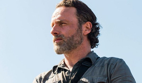 Andrew Lincoln as Rick Grimes on AMC's The Walking Dead