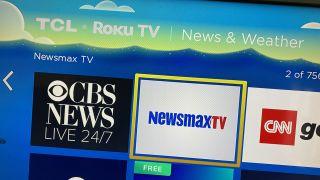 Newsmax is on Roku.