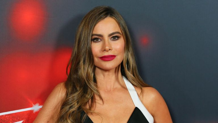 """Sofia Vergara arrives for the """"America's Got Talent"""" live show at the Dolby theatre in Hollywood"""