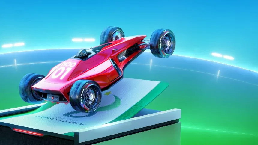 Players demolish Trackmania's 'impossible' skip and fly over the finish line in reverse