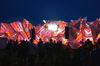 XL Video Projections at Glastonbury Festival