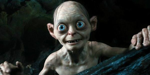 Gollum Andy Serkis Lord of the Rings