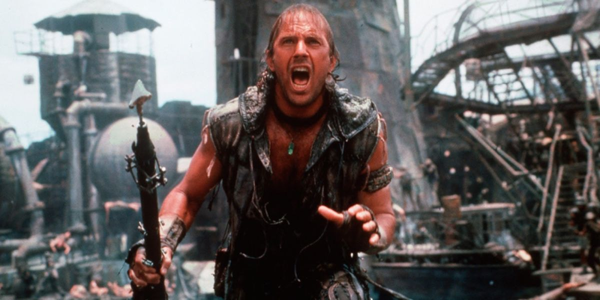 Kevin Costner in Waterworld