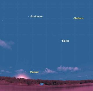 See Venus Before It Bids Farewell