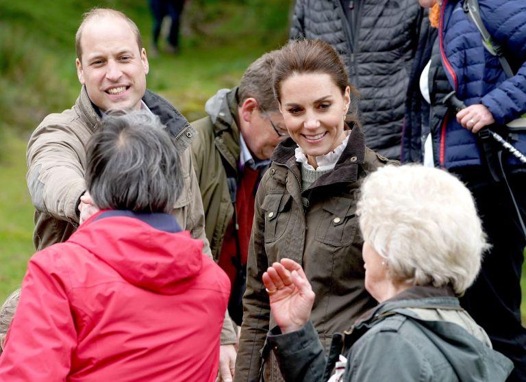 Catherine and William make travel blunder