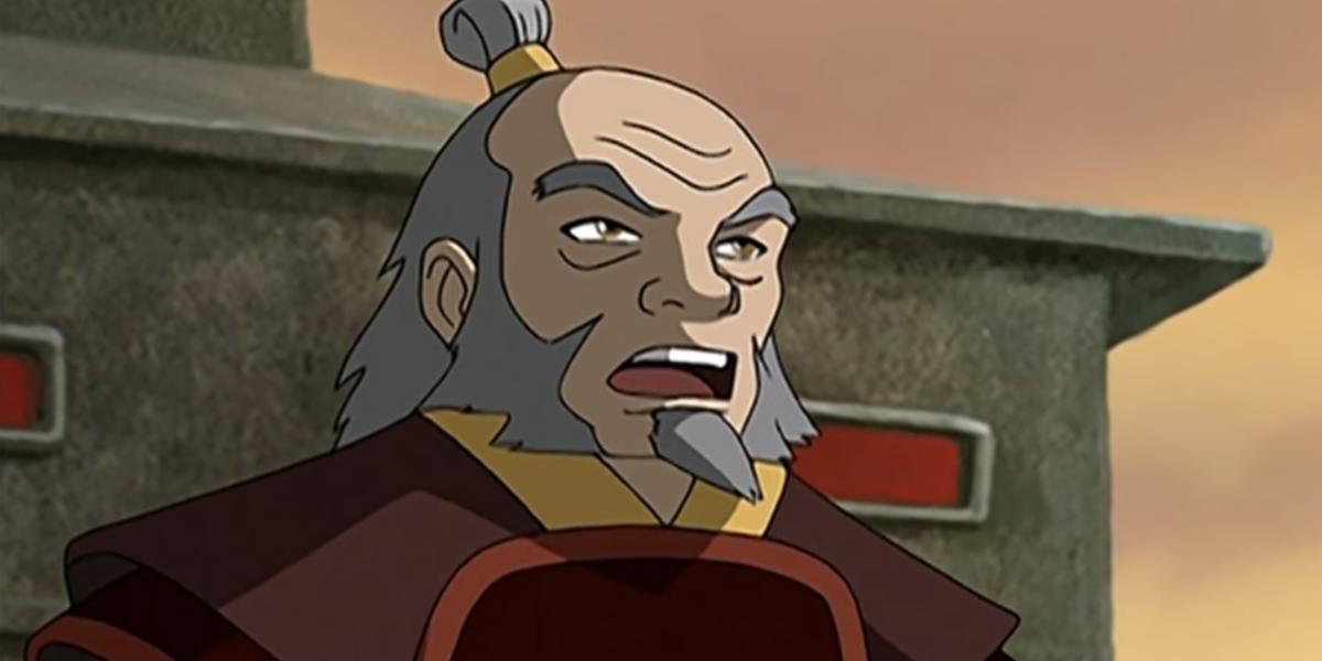 avatar the last airbender pilot uncle iroh mako screenshot