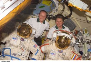 Space Station Crew Ready for Next Spacewalk