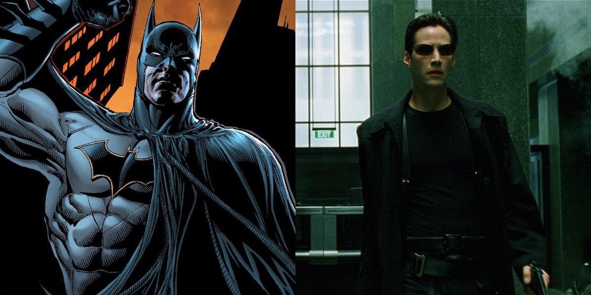 Batman and The Matrix's Neo