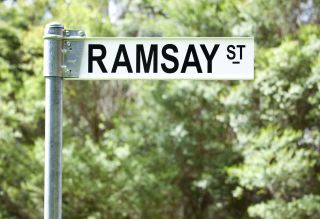 What is Ramsay Street really called? Neighbours logo Ramsay St