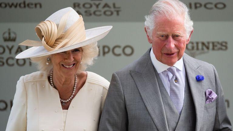 Prince Charles and Duchess Camilla at Royal Ascot