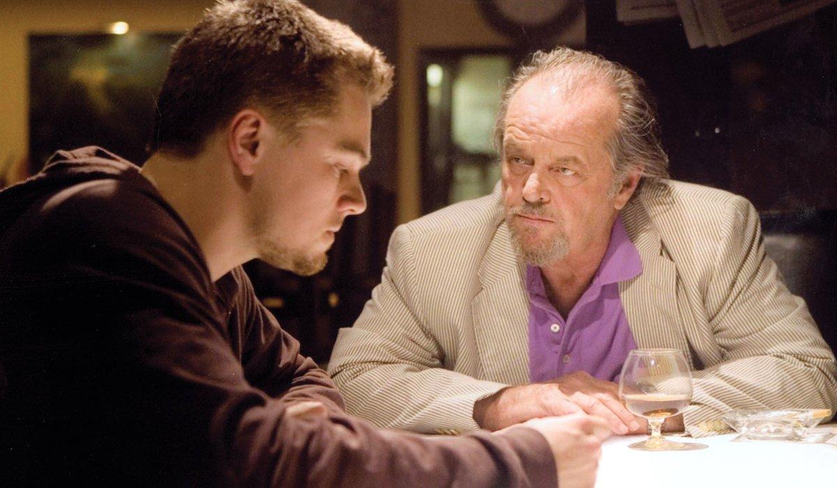 The Departed Leonardo DiCaprio Jack Nicholson
