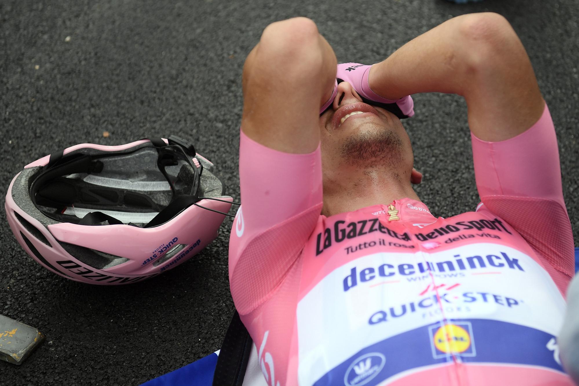 Giro d'Italia 2020 - 103th Edition - 15th stage Base Area Rivolto (Frecce Tricolori) - Piancavallo 185km - 18/10/2020 - Joao Almeida (POR - Deceuninck - Quick Step)- photo POOL/Fabio Ferrari/BettiniPhoto©2020