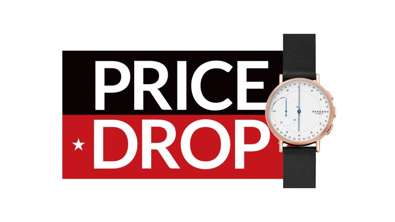 Save up to 50% on this stylish Skagen hybrid smartwatch