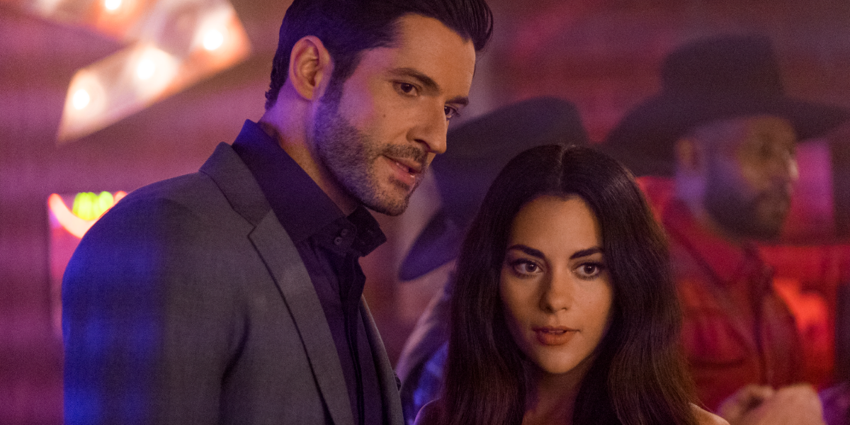 Lucifer Tom Ellis Inbar Lavi Eve Netflix