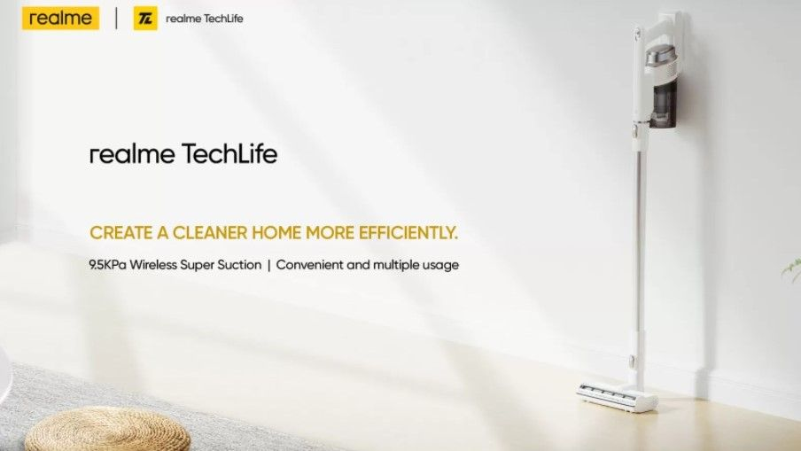 Realme to launch air-purifier and vacuum cleaners in India