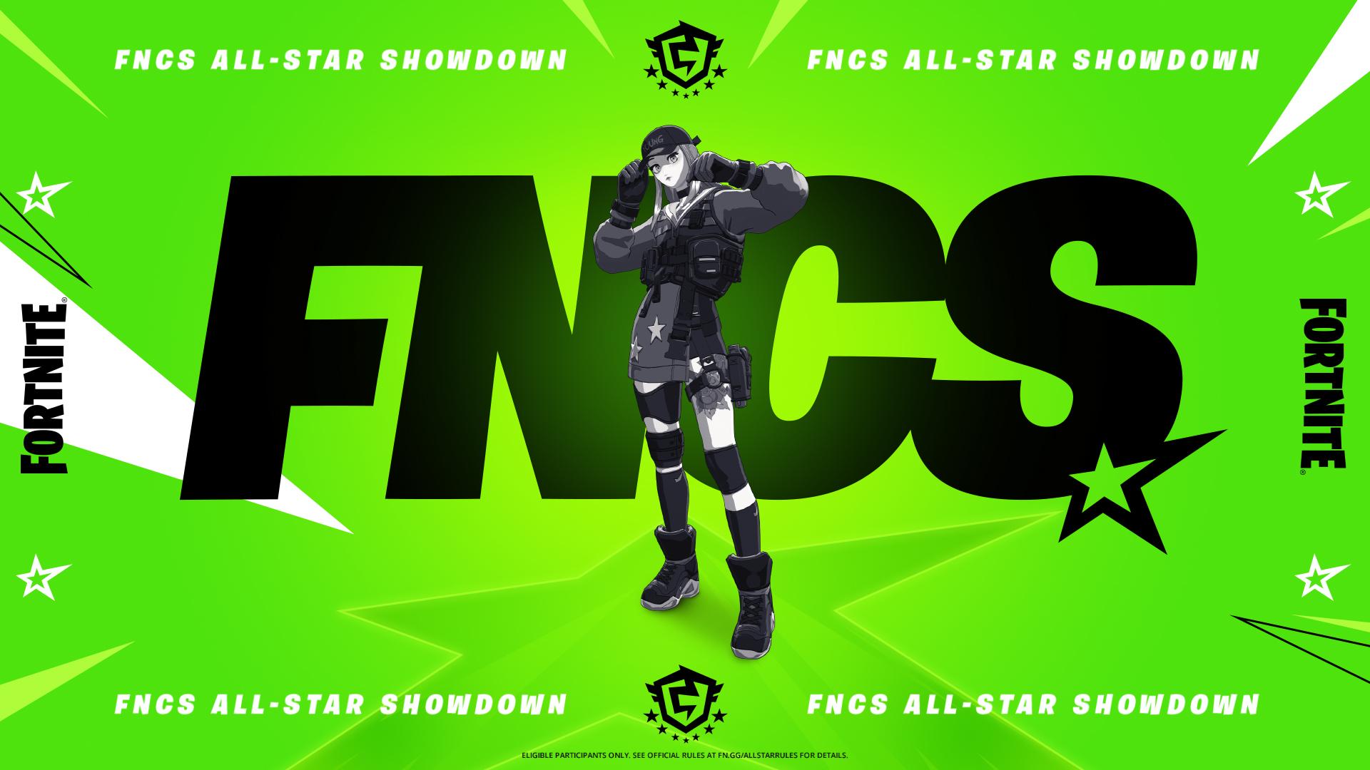 fortnite fncs all star showdown