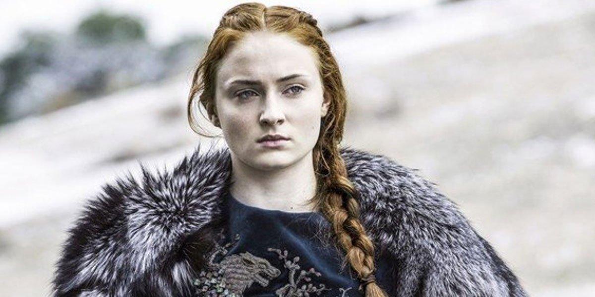 Sansa Stark looking fierce in Game of Thrones HBO still, Sophie Turner