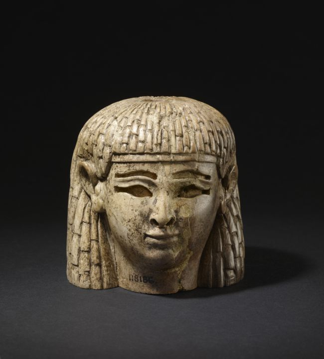 Ivory Head of Woman