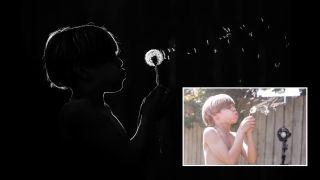 Home photography ideas: 1 flash, 4 great kids portrait setups