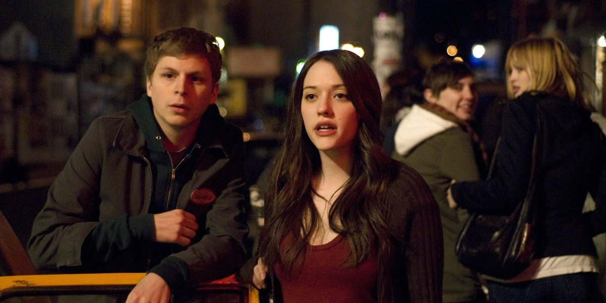 Michael Cera and Kat Dennings in Nick & Norah's Infinite Playlist