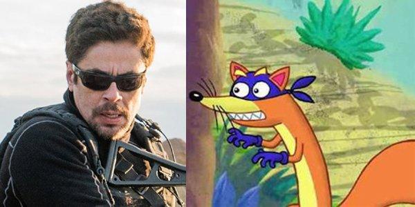 Benicio Del Toro Will Play Swiper In Dora The Explorer Movie