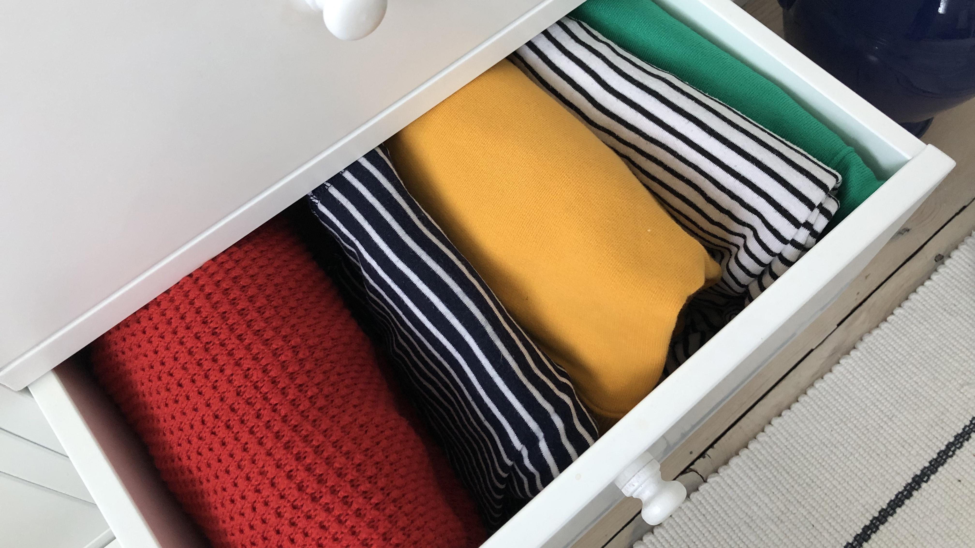 Marie Kondo Folding How To Do Konmari Folding Real Homes