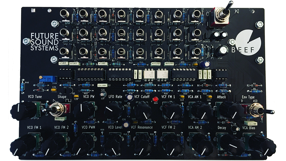 Future Sound Systems launches the Brunswick barebones analogue synth for under £100