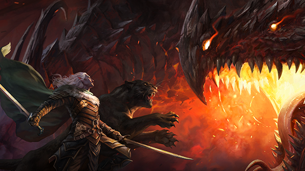 Here's a look at the Magic: The Gathering and Dungeons & Dragons crossover set