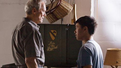 Gran Torino - Clint Eastwood's Walt Kowalski becomes an unexpected mentor to 16-year-old Thao (Bee Vang)