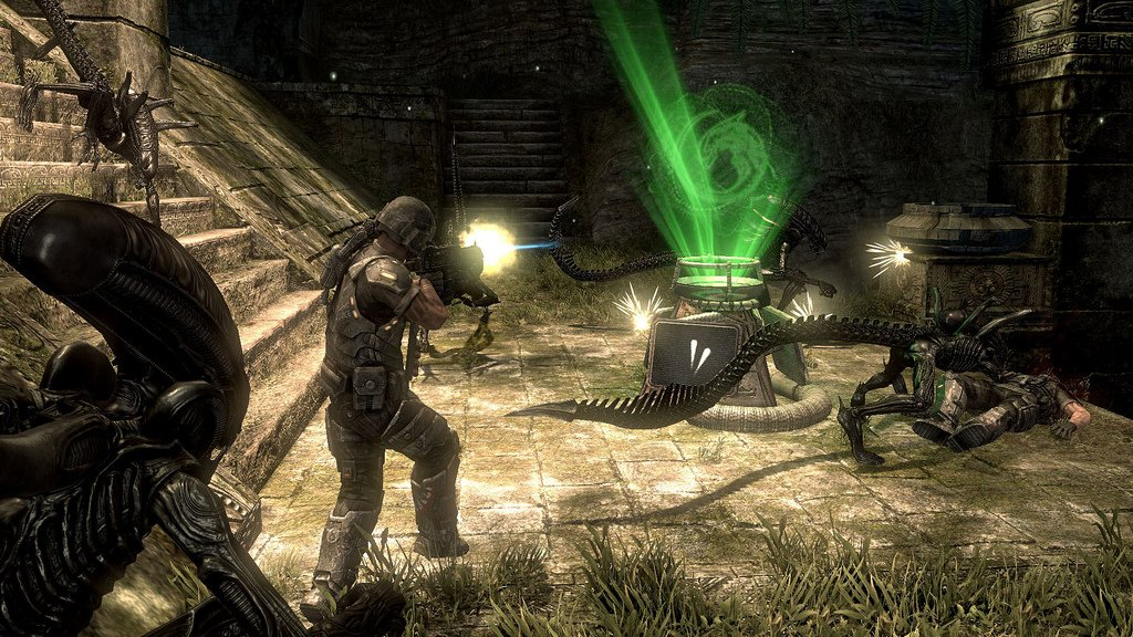 Aliens Vs. Predator Screenshots: Rumble In The Jungle #11168