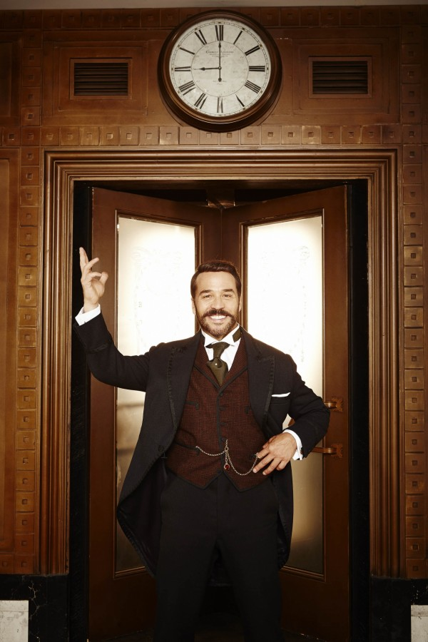 Jeremy PIven as Harry Selfridge