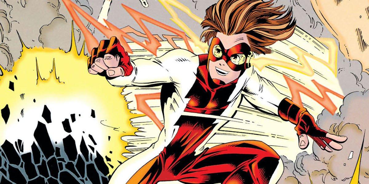 Bart Allen Impulse DC Comics