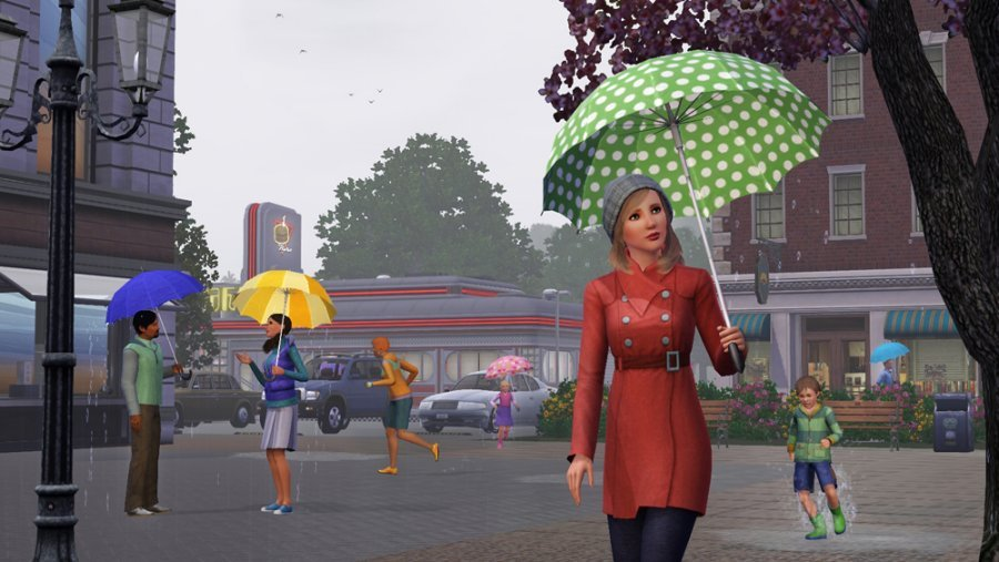 The Sims 3 Seasons Screenshots Features A Sim For All Seasons #23221