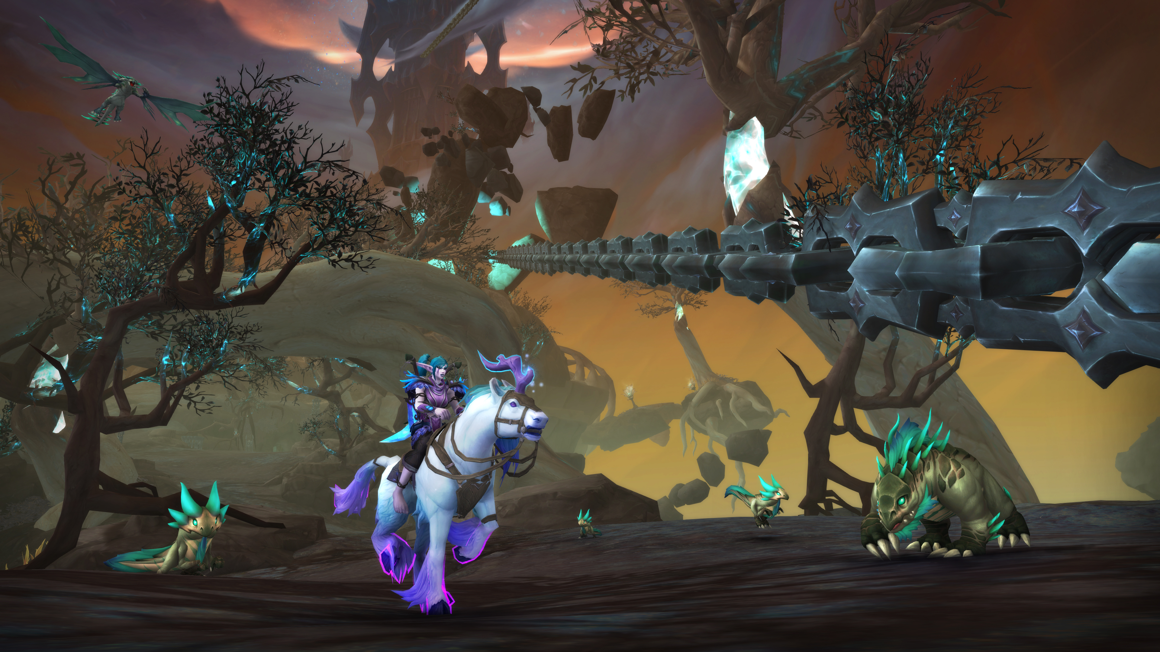 World of Warcraft: Shadowlands' next big update, Chains of Domination, revealed