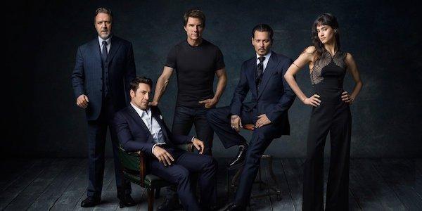 Dark Universe cast