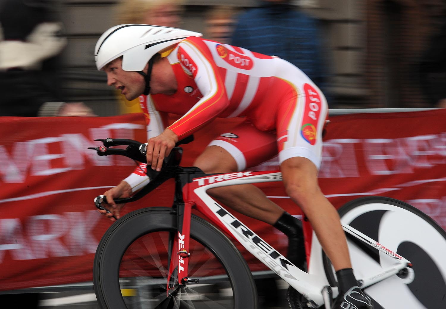 Rasmus Quaade, silver, under-23 men time trial, Road World Championships 2011