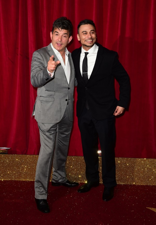 John Altman (left) and Ricky Norwood attending the British Soap Awards