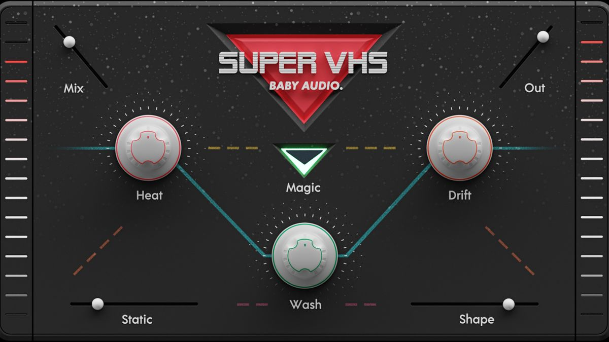 Baby Audio's lo-fi Super VHS plugin takes you back to the '80s
