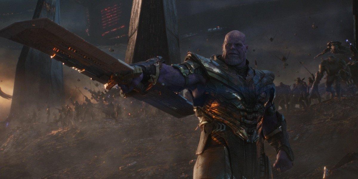 Thanos' army in Endgame