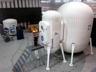 NASA Tests Inflatable Lunar Shelters