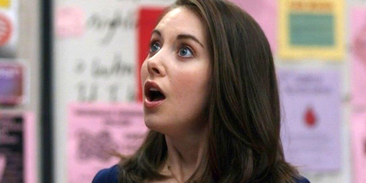 Alison Brie surprised Community