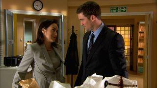Zara gets caught in Daniel's office