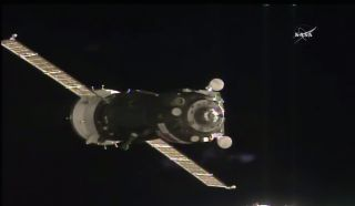 Soyuz Approaches Space Station, July 9, 2016