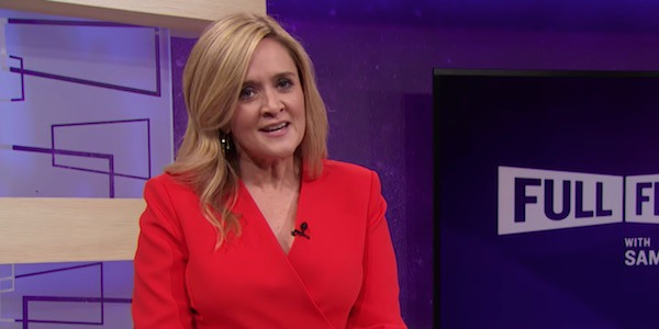 Samantha Bee, host of Full Frontal on TB