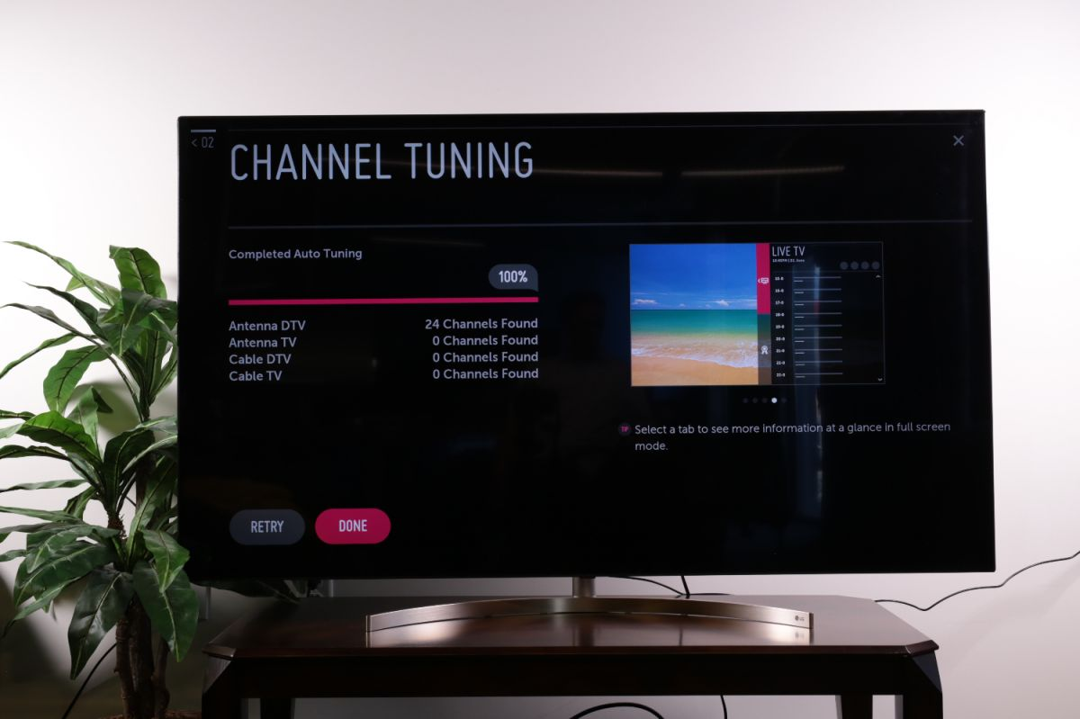 How to set up over-the-air channels on your LG TV - LG TV