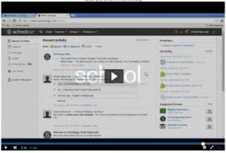 Video Tutorial: Schoology Training