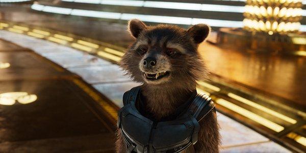 Rocket Raccoon in Guardians of the Galaxy Vol. 2