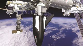 Dream Chaser at ISS art