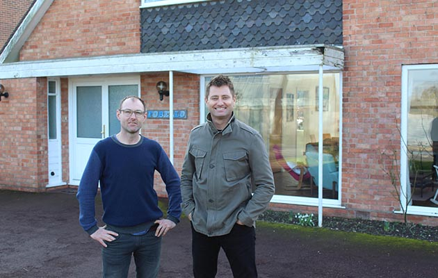 UGLY HOUSE TO LOVELY HOUSE S3 EP1: Pictured: Graeme Williamson, George Clarke