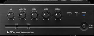 TOA Introduces High-Powered BG-2000 Mixer Amp